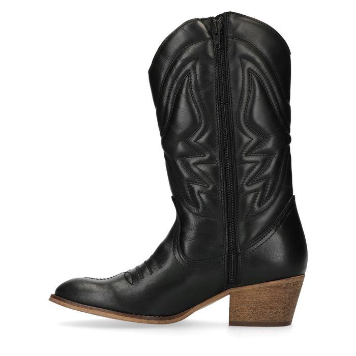 Cowboylaarzen zwart