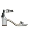 Sandales minimalistes - argent métallisé
