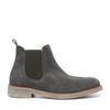 Chelsea boots en daim basses - kaki