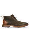Boots à lacets - marron foncé
