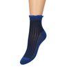 Blauwe sokken met glitters