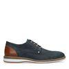 Chaussures à lacets avec motif - bleu