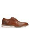 Chaussures à lacets avec semelle blanche - cognac