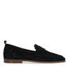 Gevlochten loafers zwart