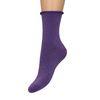 Chaussettes pailletées - violet