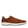 Baskets basses en nubuck - marron