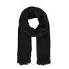 Écharpe duveteuse - noir