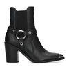 Chelsea boots à talon - noir