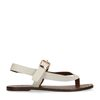Sandales en cuir - beige