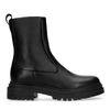 Sacha x Isha zwarte leren chelsea boots