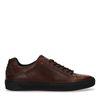 Braune Ledersneaker