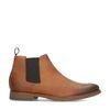Cognac leren chelsea boots