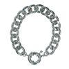 Zilverkleurige armband met grote sluiting