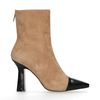 Bottines en daim - beige