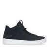 Anthrazitgraue Nubuk-Sneaker