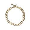 Bracelet maillons - doré