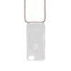 Verstellbare rosafarbene Handyschnur
