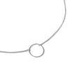 Collier minimaliste argenté