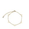 Bracelet avec V - doré