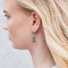 Boucles d'oreille avec panthère - argenté