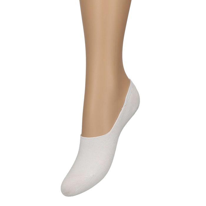 Socquettes pour baskets Unisex - blanc