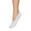 Socquettes pour baskets unisexe 2 paires - blanc