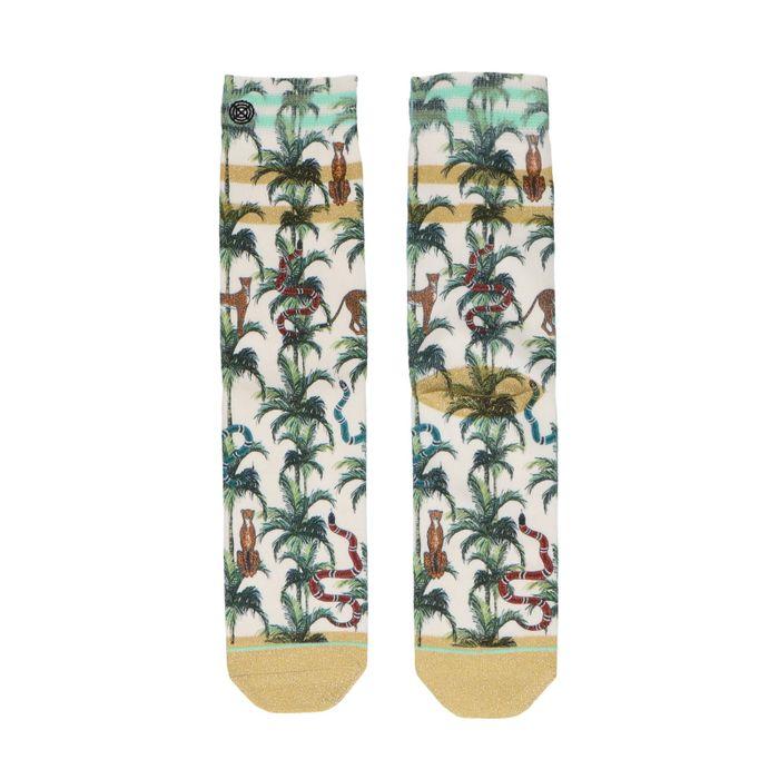 XPOOOS Chaussettes avec palmiers