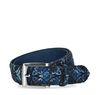 Blauer Gürtel mit Azulejo-Muster
