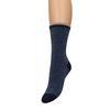 Blauwe glitter sokken met strepen