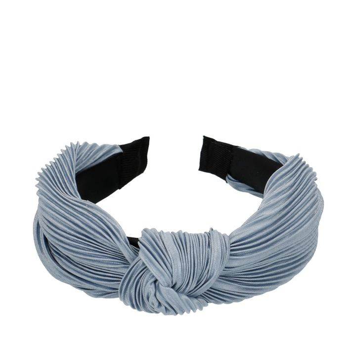 Bandeau plissé - bleu