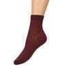 Bordeauxrote Glitzer-Socken