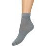 Graue Glitzer-Socken