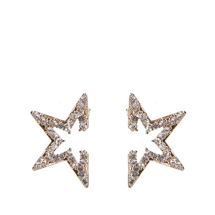 goudkleurige sterren met steentjes