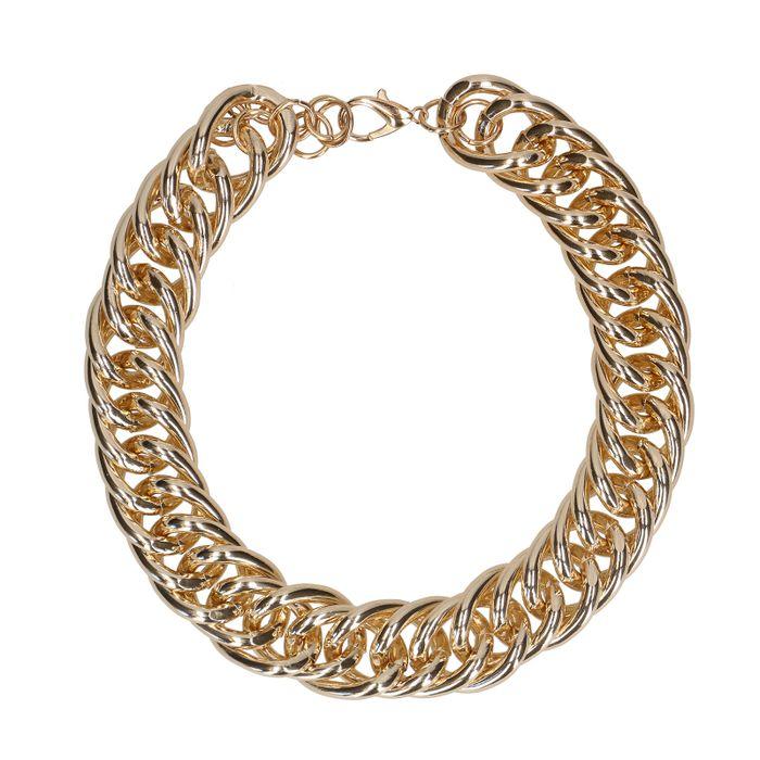 Goudkleurige chain ketting