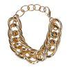 Goudkleurige chain armband