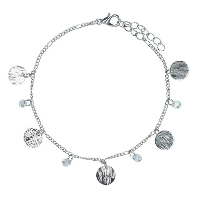 Silbernes Münz-Armband