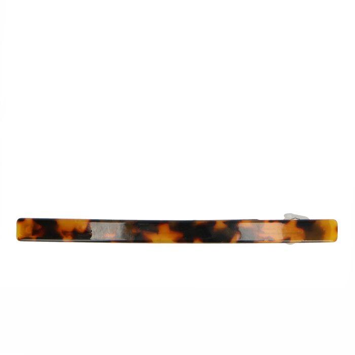 Schildpatt-Haarspange dunkelbraun