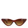 Bruine cat-eye zonnebril
