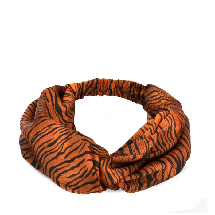 Haarband met tijgerprint