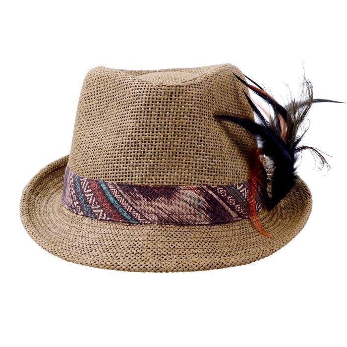 Bruine hoed