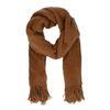 Harige cognac sjaal