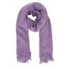 Lila hairy sjaal
