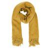 Okergele hairy sjaal