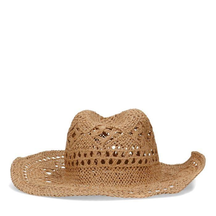 Chapeau de cowboy en paille de papier