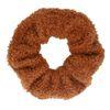 Camel teddy scrunchie