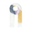 Colorblock gebreide sjaal