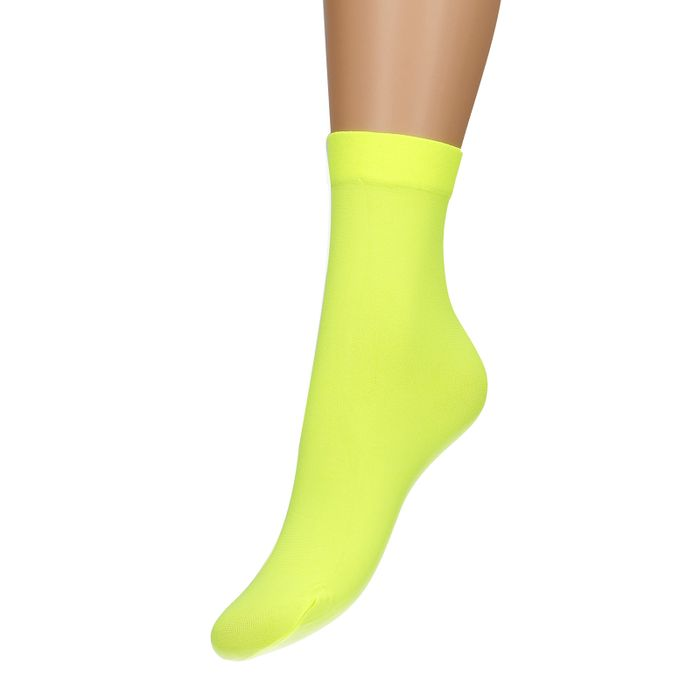 Neon gele sokken