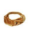 Samt-Haarband gelb