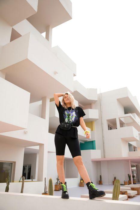 Marije Zuurveld x Sacha Neon-Scrunchie