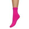 Socken in Neonrosa